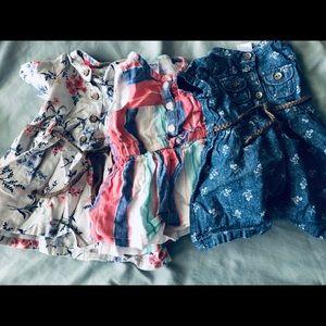 Carter's baby girl dresses